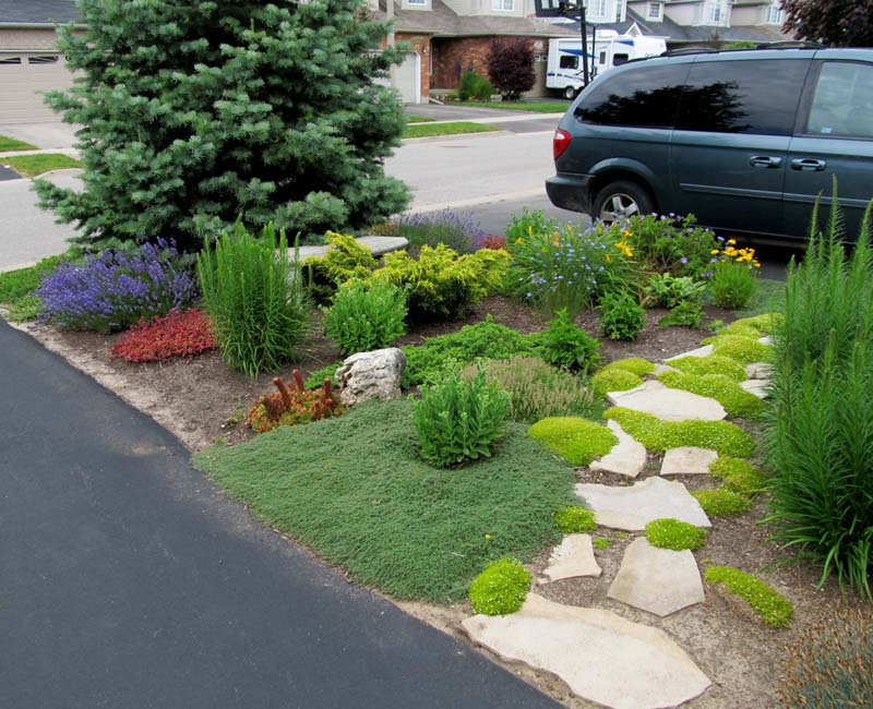 Suburban backyard landscaping ideas suburban backyard for Suburban garden design ideas