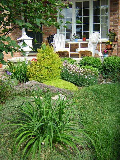 Suburban Garden Design Landscape Design Service In Guelph Kitchener Waterloo Cambridge Area